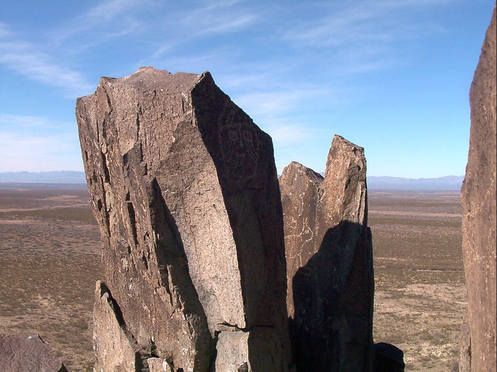 ze) Cool rock formation.