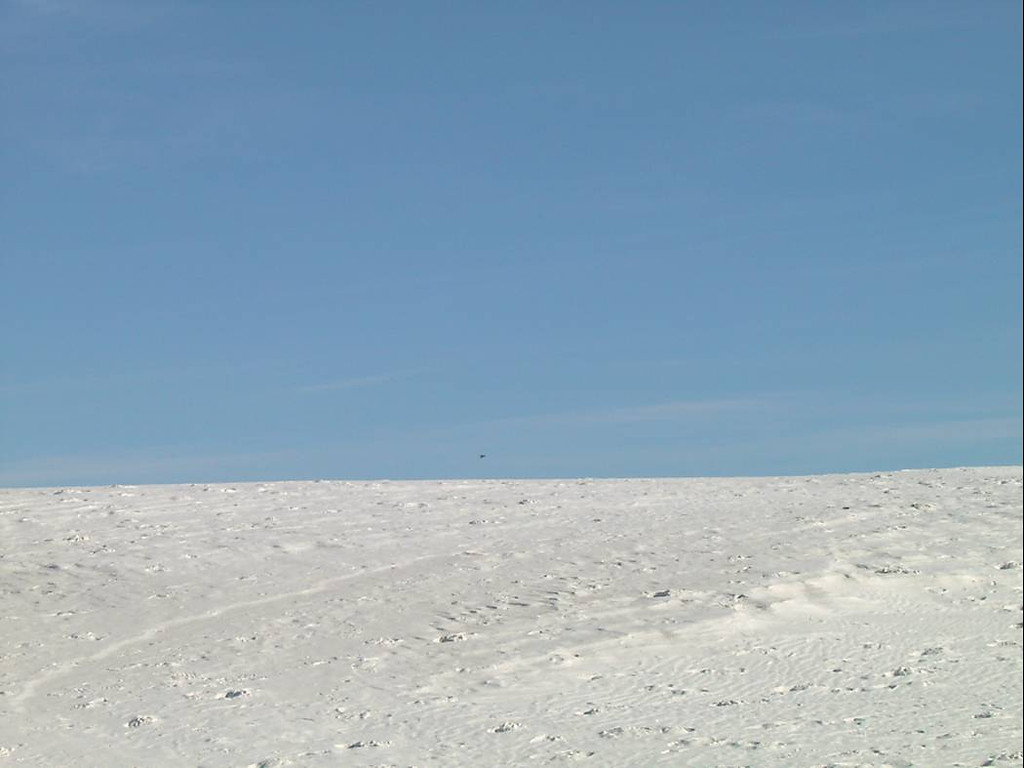 q) White Sands was also very silent. There was no one around. The silence was finally broken by a fighter doing several flybys.