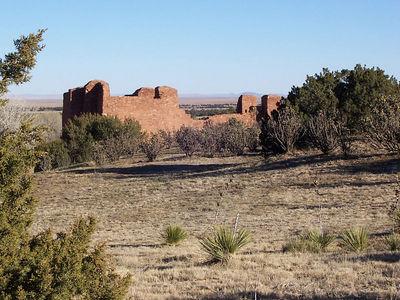 The ABO ruins near Mountainair, NM.