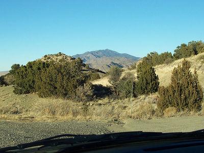 A Manzano Mountain view near Mountainair.