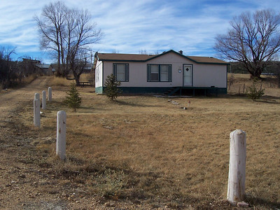Mobile home on 3 acres we considered buying in Buena Vista, NM. After considering it for a week, we made an offer, only to find out it had already gone under contract. The home was only a few years old and was at the end of a quiet dead-end road.