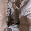 Slot canyon at Kasha-Katuwe Tent Rocks Natl Monument.