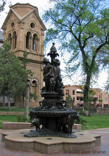 Basilica of St Francis of Assisi, Santa Fe.