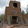 San Miguel Church, Santa Fe. Oldest church structure in USA, ca. 1610.