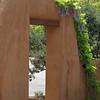 Arch at local hotel, Santa Fe.
