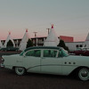 Wigwam Motel with Vintage Cars and Teepees