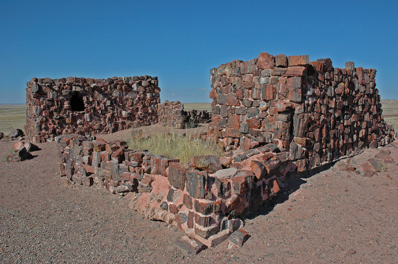 Agate House in the Petrified Forest
