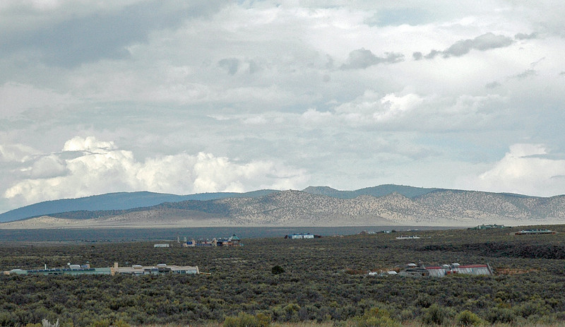 Eco-lairs in the New Mexico Desert