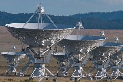 The Very Large Array (VLA) west of Socorro, New Mexico