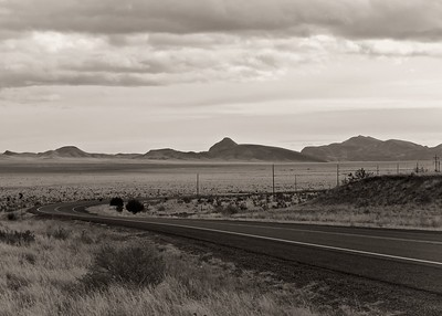 Hwy 60, 6500 feet, west of Socorro, New Mexico