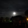 Full moon over ABQ KOA.
