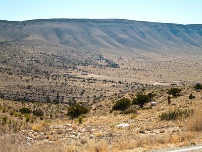 Guadalupe Ridge from Dog Canyon
