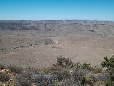 El Paso Gap near Guadalupe Ridge.