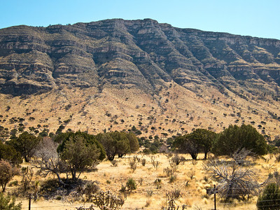 Guadalupe Ridge from Dog Canyon