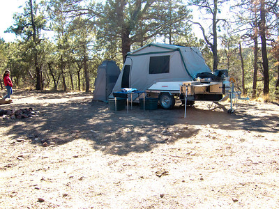 Fish's Camp in the Guadalupe Mountains-Lincoln National Forest.