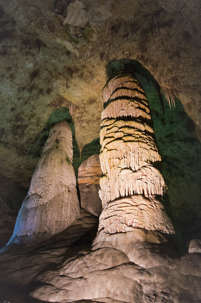 "The ""Big Room"" at Carlsbad Caverns."