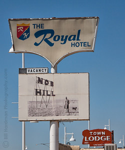 The Royal Hotel on Route 66
