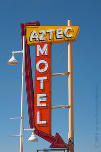 Aztec Motel on Route 66