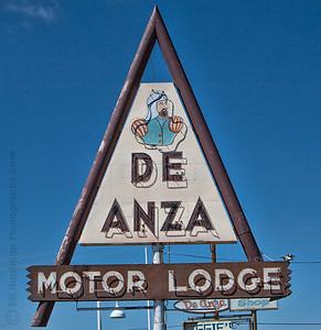 De Anza Motor Lodge on Route 66