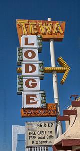 Tewa Lodge on Route 66