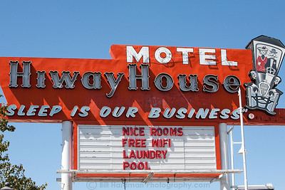 Hiway House Motel on Route 66