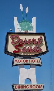 Desert sands Motor Hotel on Route 66
