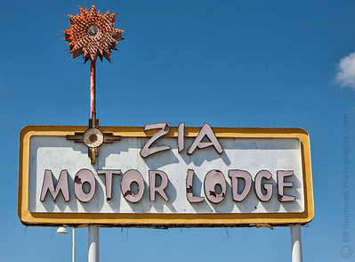 Zia Motor Lodge on Route 66