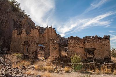 Van Pattens Mountain Camp hotel remnants