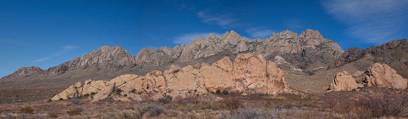 Organ Mountains @ Dripping Springs State Park