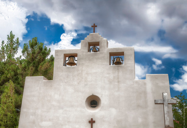 St. Francis Church in Tularosa, NM