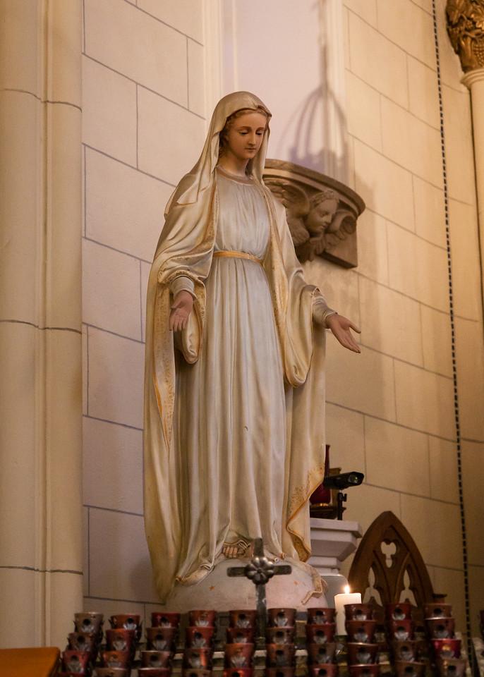 Mary, Loretto Chapel