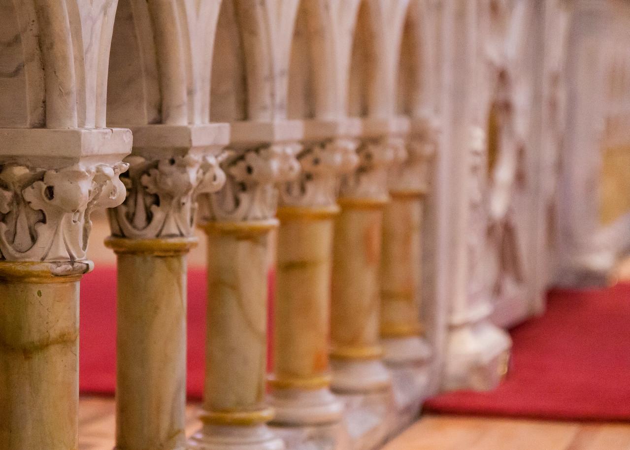 Communion Rail, Loretto Chapel