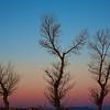 Sunrise at White Sands, NM