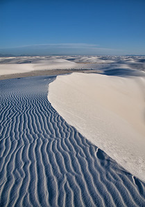 Dune at White Sands National Park, New Mexico