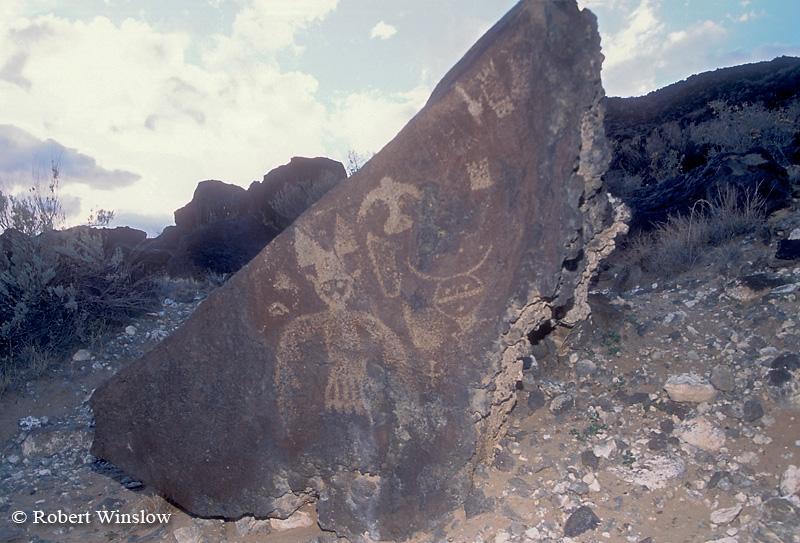 Petroglyphs, Petroglyph National Monument, Alburquerque, New Mexico, USA, North America