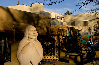 One of Santa Fe's 300 galleries