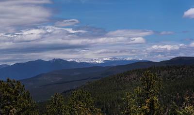 Wheeler Peak and Cimaron Range