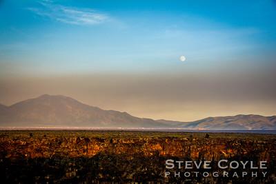 Taos Moonrise