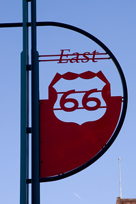Historic Route 66 in Downtown Albuquerque.