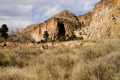 Bandelier National Monument, Best known for mesas, sheer-walled canyons, and several thousand ancestral Pueblo dwellings found among them, Bandelier also includes over 23,000 acres of designated Wilderness