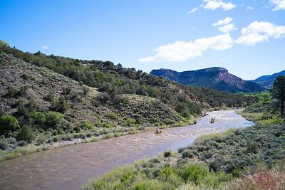 Rafting the Rio Grande