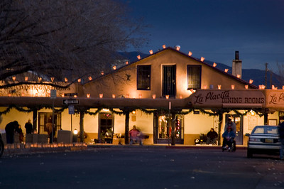 Luminarias and Restaurant featuring New Mexicans chile dishes which evolved from a combination of Indian and Spanish recipes