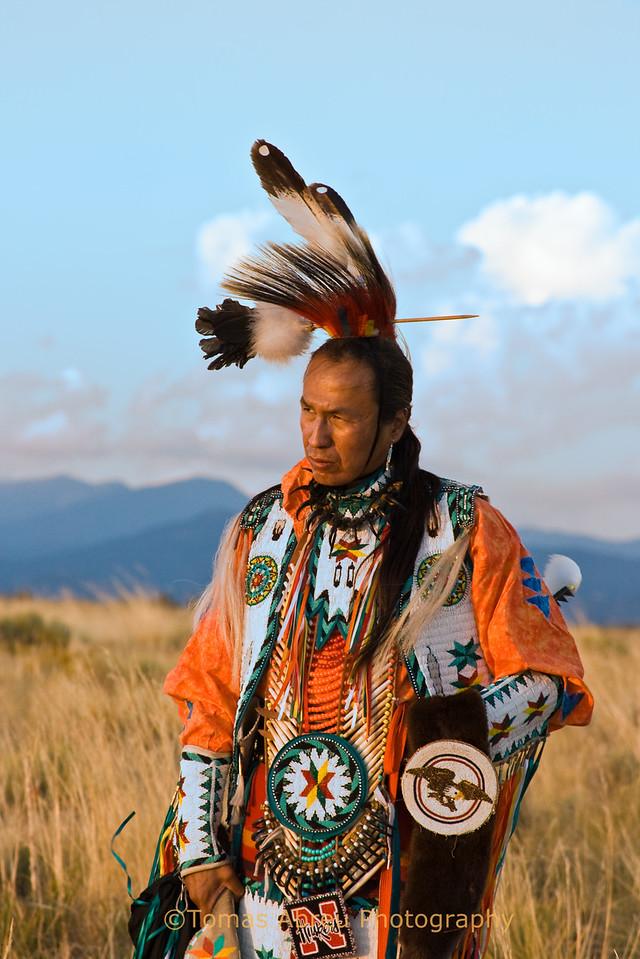 Anthony Parker, Native American dancer