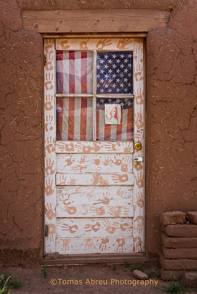 Door at Taos Pueblo