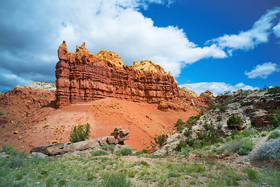Cliff near Ghost Ranch