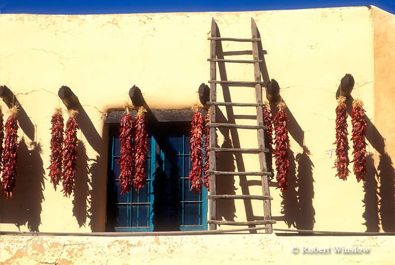 Architectural Detail, Taos, New Mexico