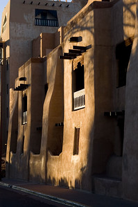 Santa Fe Adobe parking garage