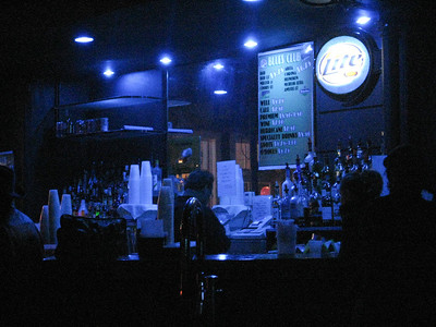 The Bar at the Blues Bar