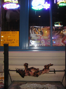 Pig Roast Outside Zydeco