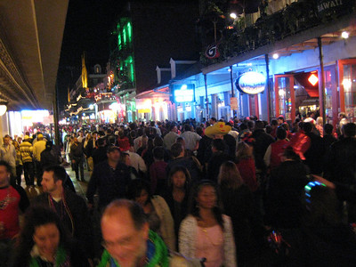New Year's Eve 2007, Bourbon St